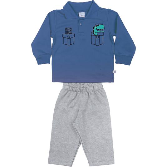 conjunto-blusao-gola-polo-calca-moletom-penteado-felpado-azul-cinza-8831-2