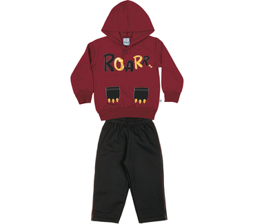 conjunto-blusao-calca-moletom-penteado-felpado-vermelho-preto-8531-2
