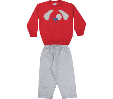 conjunto-blusao-calca-moletom-penteado-felpado-vermelho-cinza-8536-2