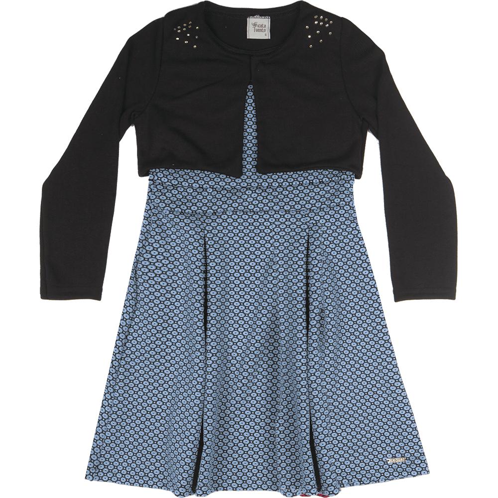 20fad0d1c vestido-com-bolero-jacquard-vivid-malhao-trico-azul-