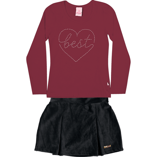 conjunto-blusa-manga-longa-saia-shorts-cotton-penteado-veludo-cotele-vermelho-preto-5855-1