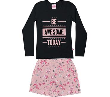 conjunto-blusa-manga-longa-shorts-cotton-penteado-molecotton-penteado-felpado-preto-rosa-5857-2