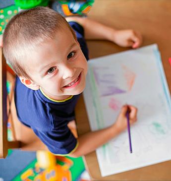 Lápis de cor para o crescimento do seu filho!