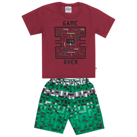 Conjunto-abrange-camiseta-e-bermuda-game-over