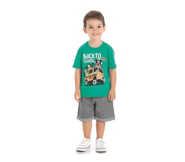Conjunto-abrange-camiseta-e-bermuda-mosntrinho-na-escola
