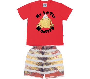 Conjunto-abrange-camiseta-e-bermuda-meu-pequeno-monstrinho
