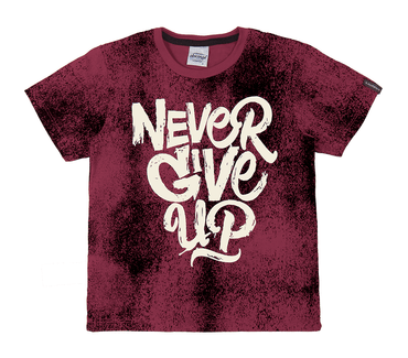 Camiseta-abrange-never-give-up
