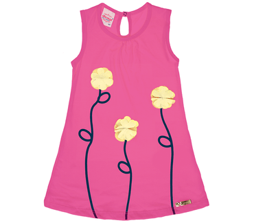 Vestido-abrange-flores-de-chiffon