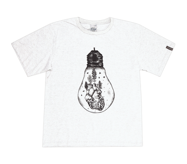 Camiseta-Juvenil-Abrange-Lampada-Branco