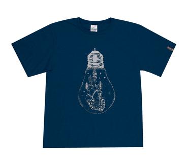 Camiseta-Juvenil-Abrange-Lampada-Azul-Marinho