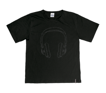 Camiseta-Juvenil-Abrange-Headphone-Preto