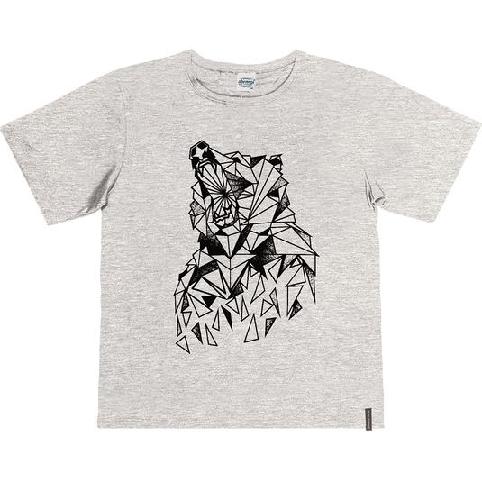 Camiseta-Juvenil-Abrange-Lobo-Mescla