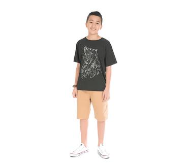 Camiseta-Juvenil-Abrange-Lobo-Preto