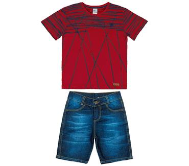 Conjunto-Infantil-Cata-Vento-Rabiscos-Vermelho-e-Jeans-Medio