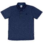 Camiseta-Polo-Infantil-Cata-Vento-Bordado-Azul-Marinho