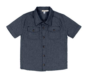 Camisa-Infantil-Cata-Vento-Botoes-Azul-Marinho