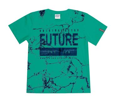 Camiseta-Infantil-Abrange-Future-Verde