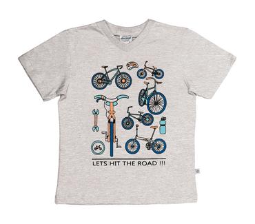 Camiseta-Infantil-Abrange-Bikes-Mescla