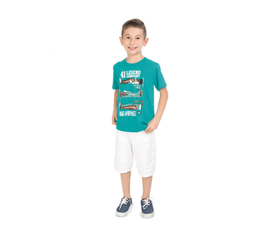 Camiseta-Infantil-Abrange-Aviao-Verde