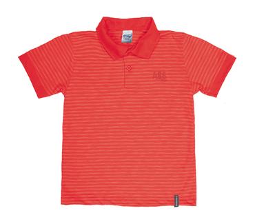 Camiseta-Polo-Infantil-Abrange-Listrado-Vermelho