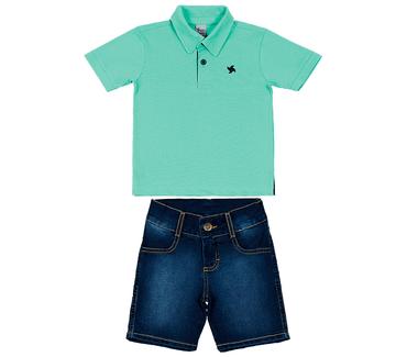 Conjunto-Primeiros-Passos-Cata-Vento-Polo-Verde-e-Jeans-Escuro
