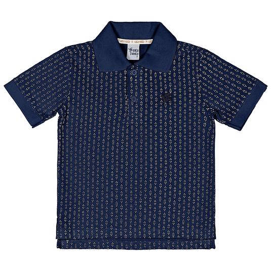 Camiseta-Polo-Primeiros-Passos-Cata-Vento-Texturizado-Azul-Marinho