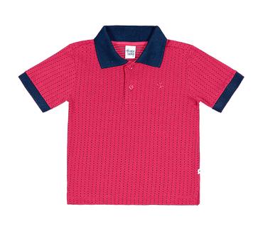 Camiseta-Polo-Primeiros-Passos-Cata-Vento-Bolinhas-Rosa