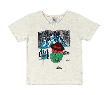 Camiseta-Primeiros-Passos-Cata-Vento-Cactos-Mescla