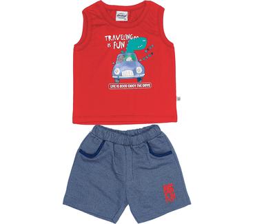 Conjunto-Bebe-Abrange-Dinossauro-Carro-Vermelho-e-Azul-Marinho