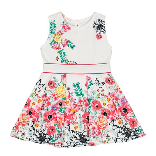 Vestido-Primeiros-Passos-Cata-Vento-Florzinhas-Vermelho