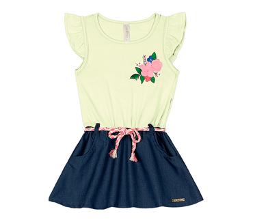 Vestido-Primeiros-Passos-Cata-Vento-Floral-Branco-e-Lilas