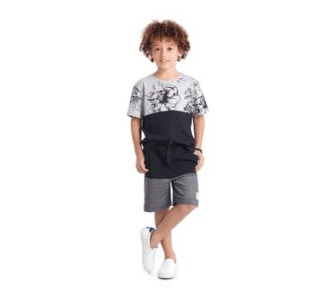 Conjunto-Cata-Vento-Infantil-Flores-Tropicais-Mescla-e-Preto