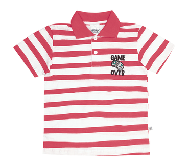 Camiseta-Polo-Juvenil-Abrange-Game-Over-Listrado-Sortidas