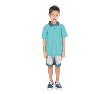 Camiseta-Polo-Infantil-Abrange-Piquet-Sortidas