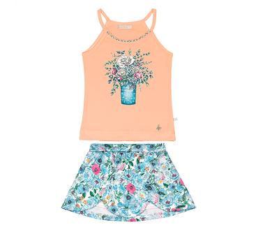 Conjunto-Infantil-Cata-Vento-Flores-Alaranjado-e-Verde