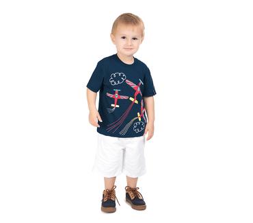 Camiseta-Primeiros-Passos-Aviao-Azul-Marinho