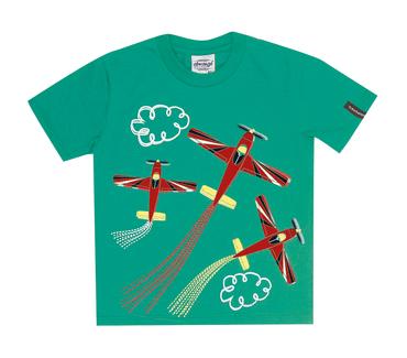 Camiseta-Primeiros-Passos-Aviao-Azul-Vermelho