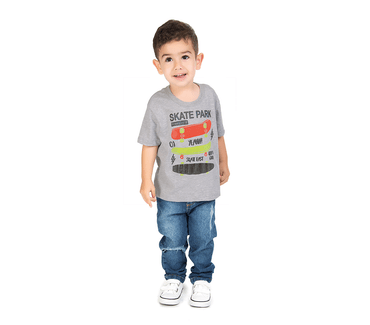 Camiseta-Primeiros-Passos-Skate-Park-Mescla