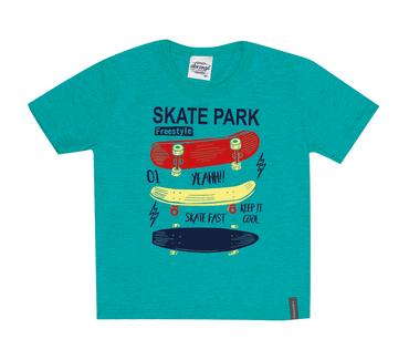 Camiseta-Primeiros-Passos-Skate-Park-Verde
