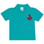 Camiseta-Polo-Primeiros-Passos-Abrange-Barquinho-Verde
