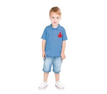 Camiseta-Polo-Primeiros-Passos-Abrange-Barquinho-Azul