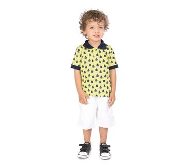 Camiseta-Polo-Primeiros-Passos-Abrange-Barquinho-Amarelo