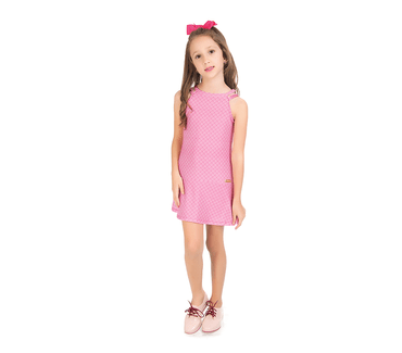 Vestido-Infantil-Abrange-Texturizado-Rosa-Claro
