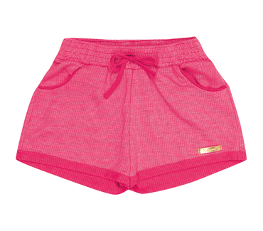 Shorts-Primeiros-Passos-Abrange-Moletinho-Pink