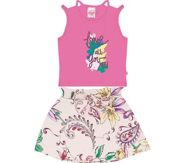 Conjunto-Infantil-Abrange-Love-Flowers-Pink-e-Rosa-Claro