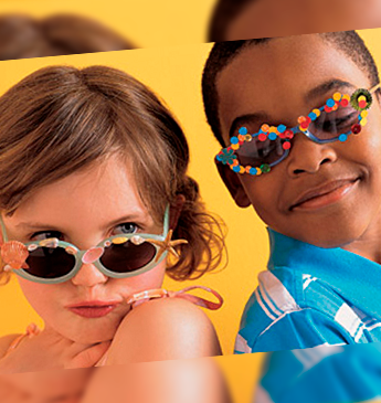 Óculos de sol para a criançada | Inspire-se