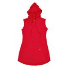 Vestido-Juvenil-Abrange-Way-Capuz-Vermelho
