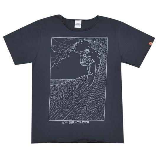 Camiseta-Juvenil-Abrange-Way-Surf-Cinza