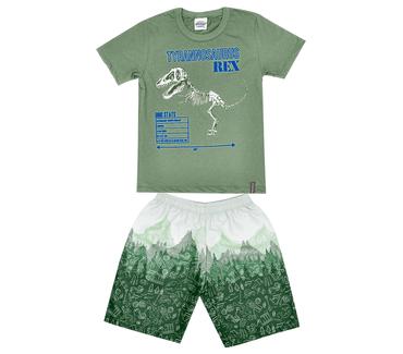 Conjunto-Infantil-Abrange-T-Rex-Verde