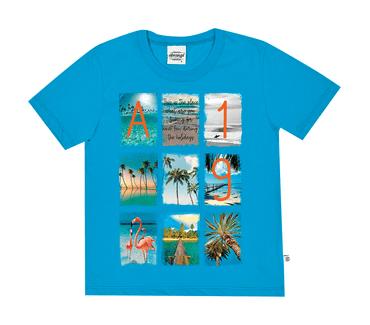 Camiseta-Infantil-Abrange-Summer-Azul